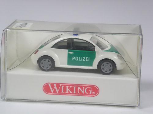 Wiking VW Nuevo Beetle policía en OVP Premio especial