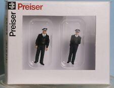 Preiser 65364, Spur 0  1:43,5 / 1:45, Polizisten stehend, blaue Uniform BRD