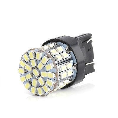 T20 7443 W21//5W 1206 50SMD Car Tail Turn Braket Parking White LED lamp ONE PC
