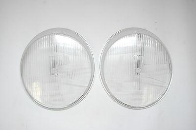 For Porsche 911 912 930 1968-1986 Headlight H4 Style Lens RPM 111941115H4