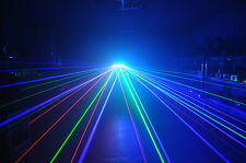 RGB *3 HEAD* -TRIFAN LASER- Red Green Blue disco dj stage pub karaoke club