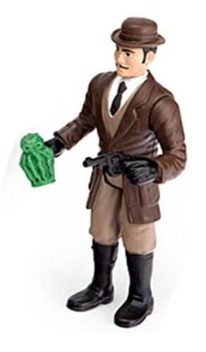 Warpo Legends of Cthulhu Professor Action Figure 3.75 retro Lovecraft NIP