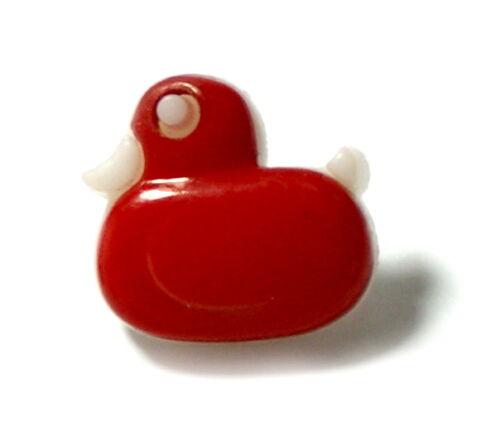 2 CM BOUTON//Mardi gras//carnaval//bébé Canards-boutons multicolores pour enfants environ 1,5 cm*1