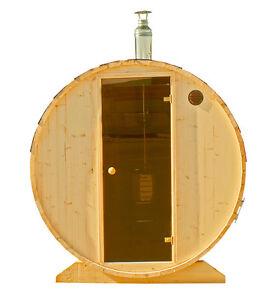 saunafass gartensauna outdoor sauna mit elektro ofen 6 kw als bausatz. Black Bedroom Furniture Sets. Home Design Ideas