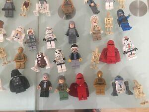 Lego-6-Random-STAR-WARS-Minifigures-Job-Lot-Minifig-trooper-clone-rey-Anakin