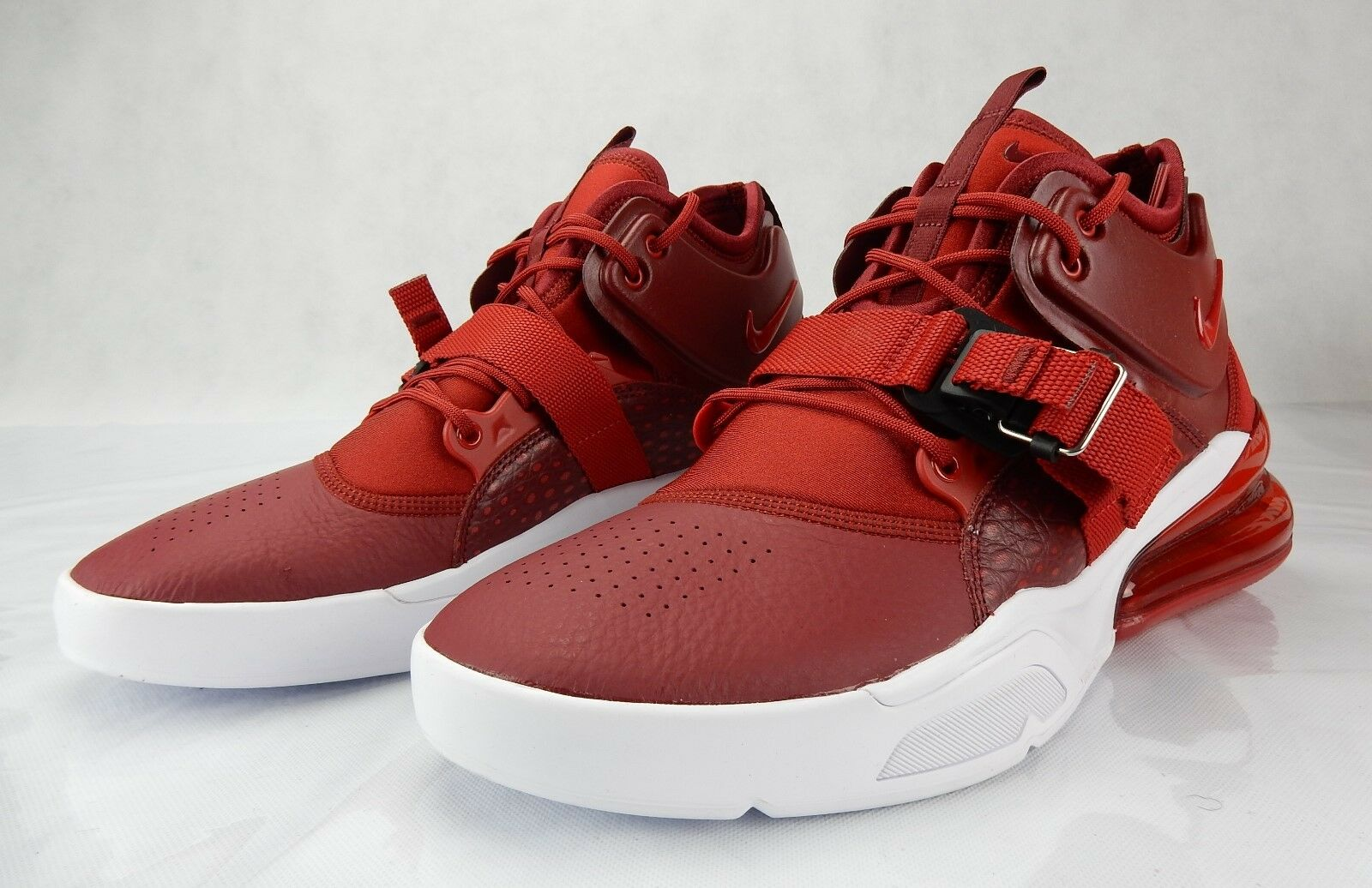 outlet store 3bd85 fc515 Nike Air Force 270 Red Croc White AH6772 600 New New New Mens Shoes S Size