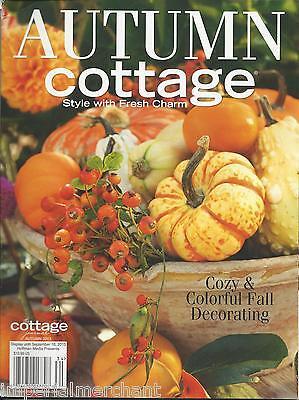 Autumn Cottage magazine Fall decorating Garden pleasure Artists and artisans