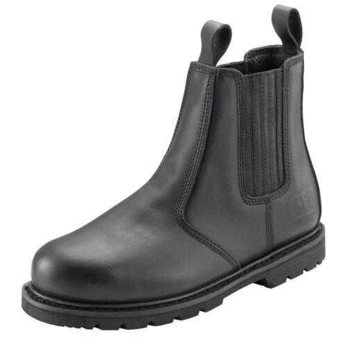 Herren Psf Outback Black Boot Dealer Schwarz Verschiedene Größen 608SM