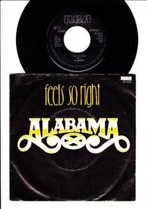 Alabama - Feels So Right - See the Embers, Feel - 7 Inch Vinyl Single - HOLLAND - Bad Sachsa, Deutschland - Alabama - Feels So Right - See the Embers, Feel - 7 Inch Vinyl Single - HOLLAND - Bad Sachsa, Deutschland