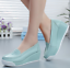 thumbnail 1 - Women Wedge Pumps Heel Work Flats Nurse Loafers Round Toe Oxfords Nursing Shoes