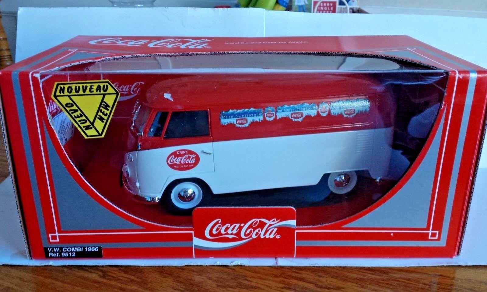 Solido Coca Cola V. W. 1966 Combi Die Cast 1 19 Scale Replica