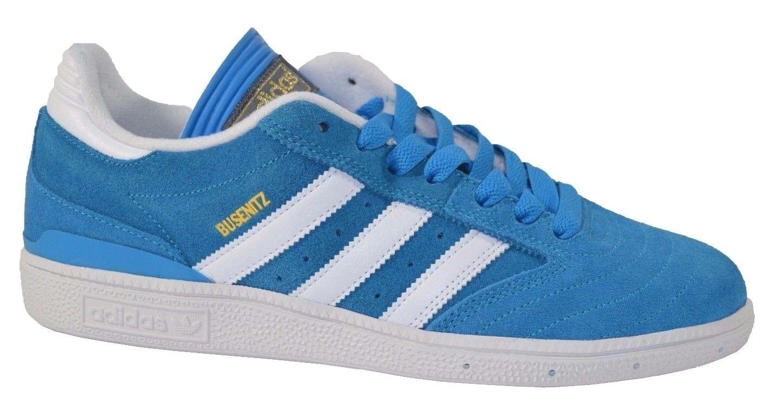 Adidas Adidas Adidas BUSENITZ Solar Azul Run Blanco Metallic Oro SB G99811 (239) Hombre Zapatos e6201c