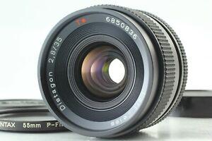 [ Exc+5 w/ P Filter ] Contax Carl Zeiss Distagon T* 35mm f/2.8 MMJ MF Lens JAPAN