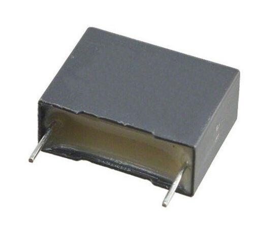 12 PEZZI= Condensatore 220n 0.22uF 250V MKT-P X2 Poliestere Box 7x17x25mm