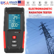 Rechargeable Powerful 5g 4g Emf Radiation Meter Tester Detector Electromagnet Us
