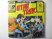STAR TREK BOOK AND RECORD SET SEALED VINTAGE 1976 VINYL RECORD ALBUM LP33 (PG271