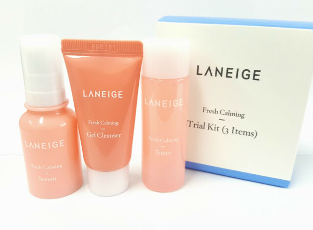 *Laneige* Fresh Calming Trial KIT (3ITEMS) 25ml/10ml/15ml - Korea Cosmetic