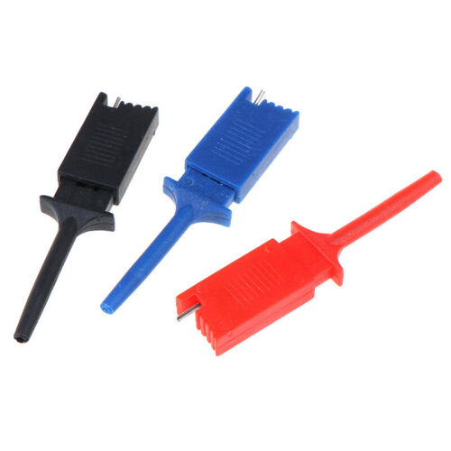 10pcs Test Hooks Clips for Measuring Instrument Test Clip Flat Hook