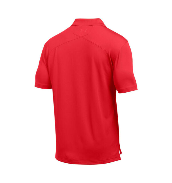 - Under Armour Men/'s UA Tac Performance Polo Long Sleeve Polyester RED