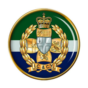 Inns-de-Escarpin-et-Ville-Yeomanry-Armee-Britannique-Broche-Badge