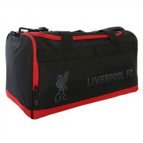 Liverpool FC Borsone Borsone Nero LFC Ufficiale Nuovo
