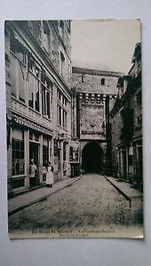 Le Mont Saint Michel France Vintage BampW Postcard  c1900s Hotel Poulard - Epsom, Surrey, United Kingdom - Le Mont Saint Michel France Vintage BampW Postcard  c1900s Hotel Poulard - Epsom, Surrey, United Kingdom