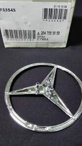 Mercedes-Benz-C300-C350-C63-C250-2008-2013-Rear-Emblem-Trunk-Star