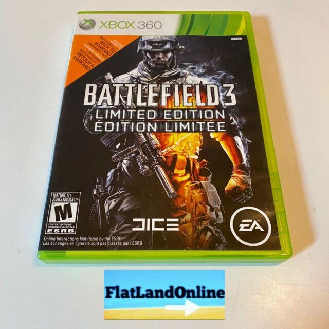 BATTLEFIELD 3 LIMITED EDITION Microsoft Xbox 360 EA