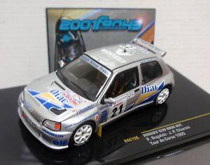 RENAULT-CLIO-MAXI-21-BUGALSKI-RALLY-TOUR-DE-CORSE-1995-1-43-IXO-RAC156