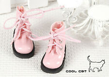 ☆╮Cool Cat╭☆【15-07】Blythe Pullip Doll Short Shoes # Shiny Pink
