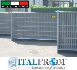 Pannelli recinzione cantiere usati