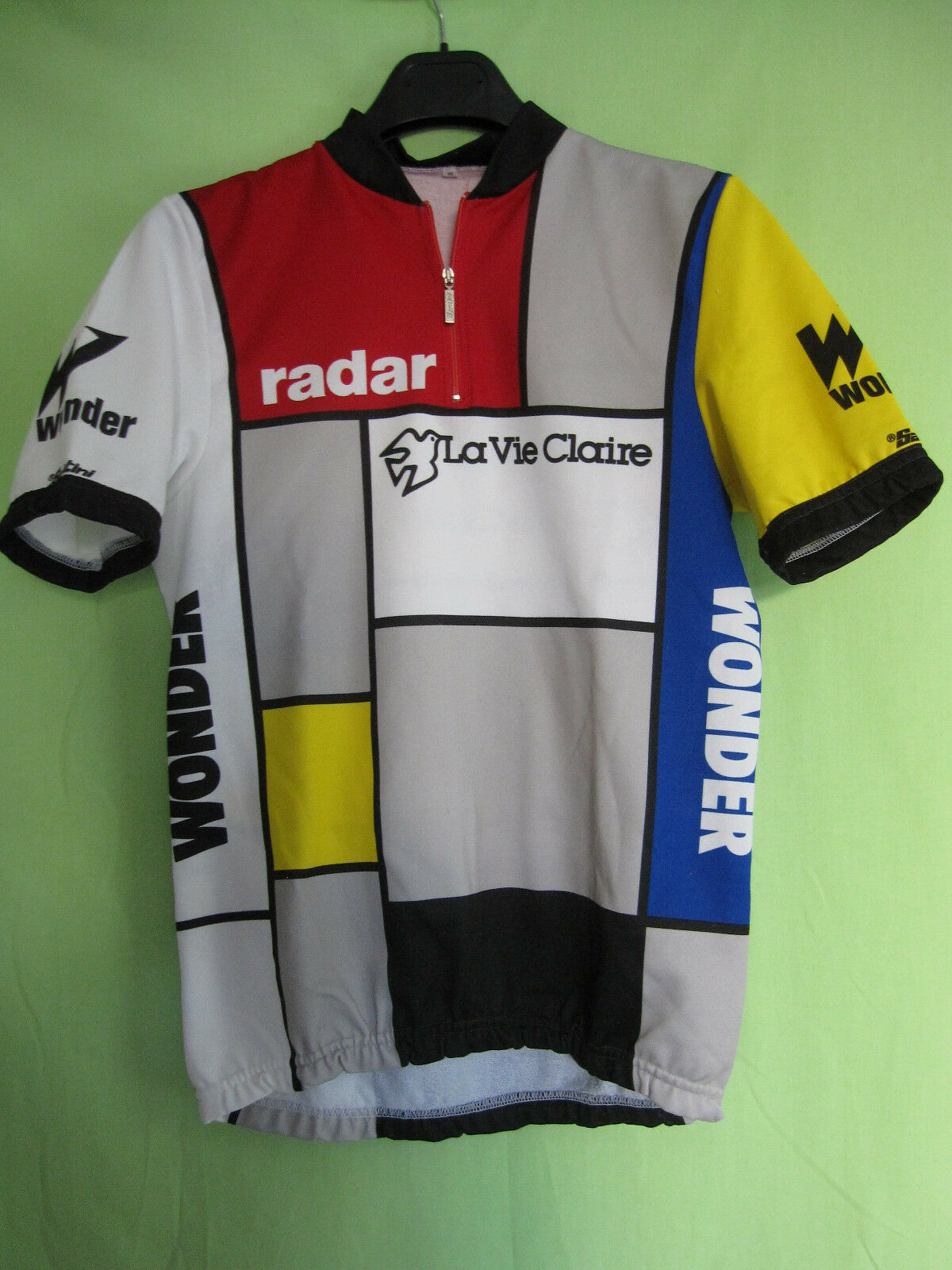 Maillot Cycliste Radar La Vie Claire  vintage jersey shirt 80'S HINAULT - M  free delivery and returns