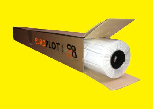 0,32€//m² 610mm x 50m Plotterpapier ungestrichen1 Rolle60g//m²