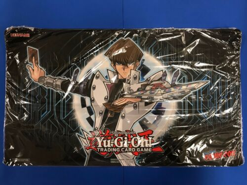 2017 Exclusive New York Comic Con Seto Kaiba Playmat Rubber Sealed Free Shipping