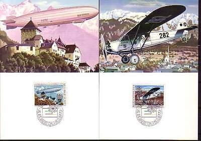 europa:15396 Liechtenstein Mk 6 Michelnummer 723-724 Schmerzen Haben