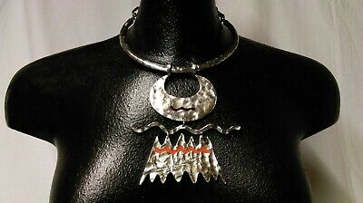 French Designer Necklace Modernist Biche De Bere Limited Edition No. 36/147 Ampie Varietà