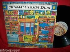 CRISTIANO DE ANDRE' Chiamali Tempi Duri LP 1982 ITALY EX