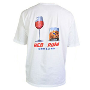 TOMMY-BAHAMA-Men-039-s-T-Shirt-RED-RUM-Red-Wine-Rum-On-The-Rocks-Summer-Tee-S-M-L-XL