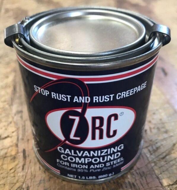 ZRC Cold Galvanizing Compound 1/2 Pint 95 Zinc (z r c) 10001