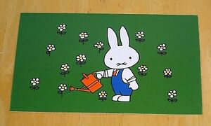 039-WITH-LOVE-FROM-MIFFY-039-POSTCARD-FATHER-BUNNY-WATERING-THE-FLOWERS-DICK-BRUNA