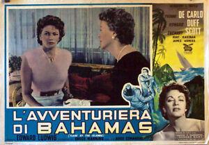 EXOTIC-AVENTURE-FLAME-OF-THE-ISLANDS-YVONNE-DE-1956-FOTOBUSTA-EDWARD-LUDWIG