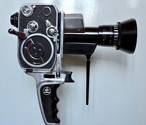 Camera-8mm-Bolex-P1-Paillard-1961-amp-accessoires-Revisee