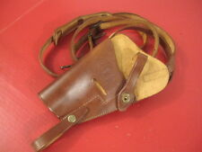 WWII US Army M7 Leather Shoulder Holster for Colt M1911 45acp Pistol - LH Repro