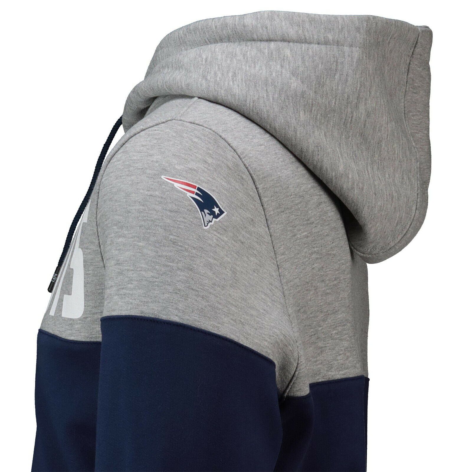 NFL Hoody New England Patriots Hoody Hoody Hoody Cut and Sew Hooded Sweater Kaputzenpullover 8dd8ca