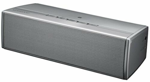 KENWOOD Bluetooth Wireless Speaker AS-BT77-S Silver F//S w//Tracking# Japan New