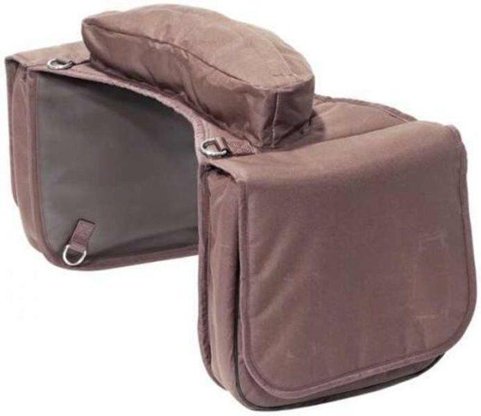 BUSSE Packtasche TRAIL mit Bananenpacktasche Bananenpacktasche Bananenpacktasche Satteltasche Packtasche NYLON braun 280a69