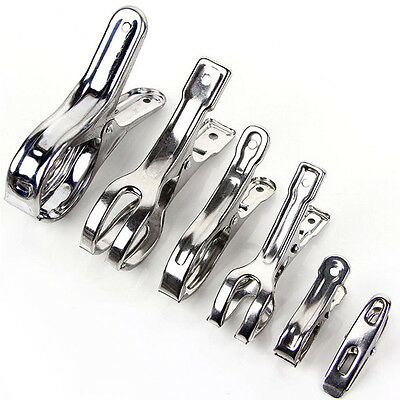 Stainless Steel Clothes Pegs strong durable Hanging dryer Pins Clips