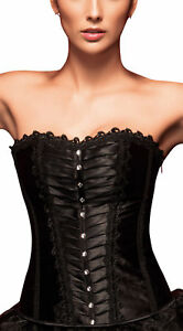 Sexy-Full-Bust-Corsage-Corset-Black-Corsage-Top-Laundry-Bags