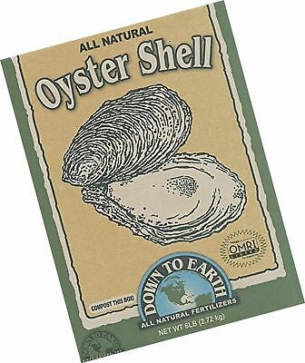 Down To Earth 6 Pound Oyster Shell Flour 6 Pound 714360078141 Ebay
