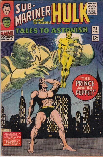 Tales to Astonish #78 (Apr 1966, Marvel)